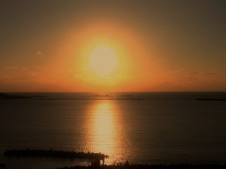 Sunsets on the Sea of Japan.