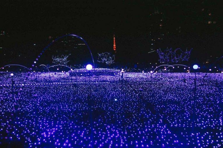 Illumination di Tokyo Midtown