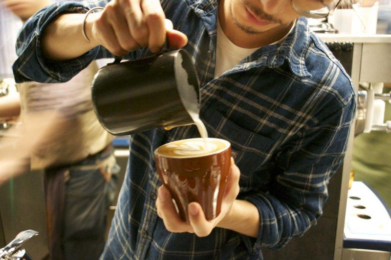 <p>Latte art</p>
