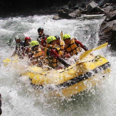 Minakami River Rafting
