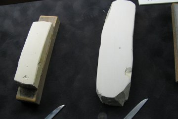 Steel used for a katana