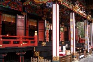 It's a beautiful shrine.