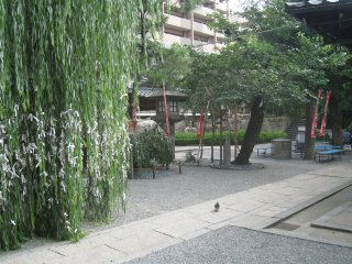 Территория храма Роккаку-до