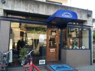 """Кофейня""""Blue Onion"""", не далеко от Арасияма - идеальное место для идеального ланча!"""