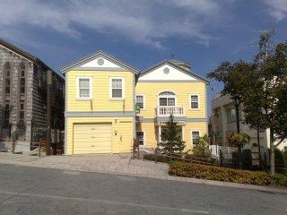 Rumah dengan warna yang sangat terang