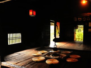 ここには安徳天皇と5名の武士が身を隠していた場所として数々の平家にまつわる史跡が残っている