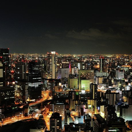 Magnificent Night Views of Osaka