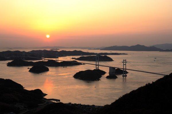 Shikoku Shimanami Evening