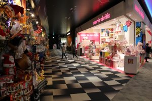 Japan Pop Jungle section is located at Grand Mall 3F and is a great place to find Japanese pop culture goodies