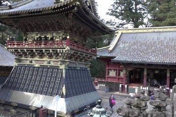New Year's Day in Nikko