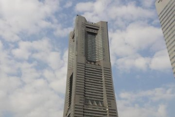 The Royal Park is at the top of the Landmark Tower