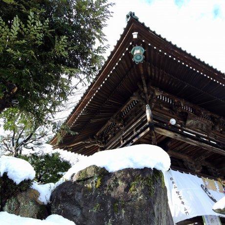 Fukui's Shougenji Temple in Snow