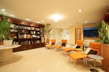 <p>会员专用的「会员专用VIP休息室」</p>