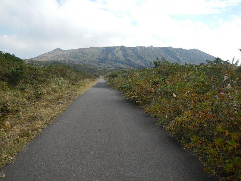 <p>Mt. Mihara</p>