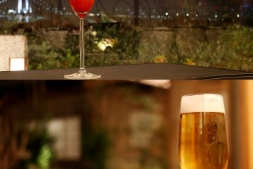 <p>You can enjoy various alcoholic drinks at the restaurant including cocktails, hard whiskey and of course beer.&nbsp;</p>