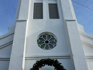 Christian churches in Nagasaki have a sad history, and this Kaminoshima Church had its own sad fate as well.