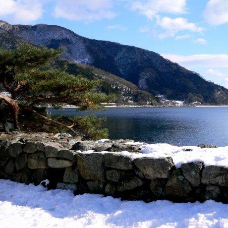 Snow at Makino