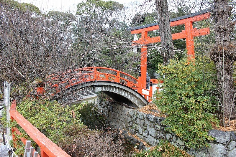 미타라시가와에 놓인 소리바시