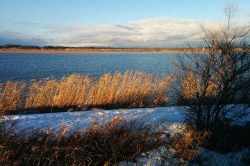 <p>Вид одного из озер</p>