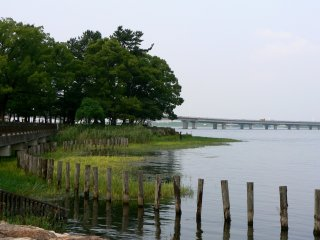 One of the bridges over the Lake
