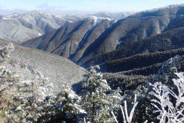和歌山の雪景色