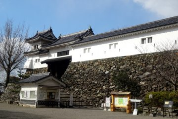<p>The castle is a reconstruction but still impressive to visit</p>