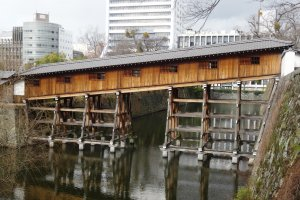 The Ohashi Roka that leads to the MomijidaniGarden