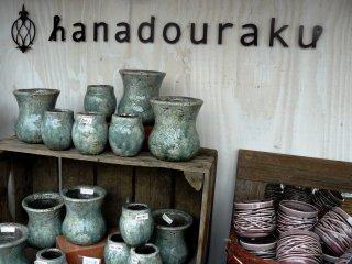 Глиняные горшочки для цветов
