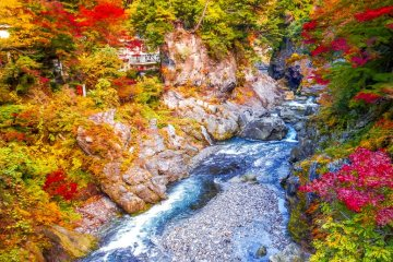 Okutama's Hatonous Ravine