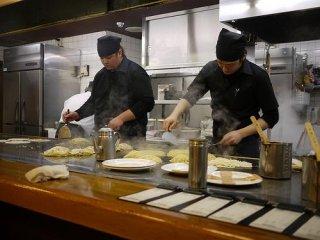 Mitchan Chefs at work