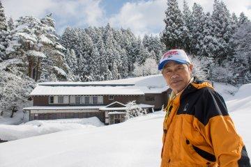 <p>Mr.Nakanishi Kuniyasu</p>
