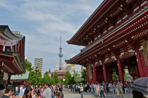 The always exciting Senso-ji Temple
