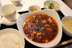 Mabo tofu (lunch)