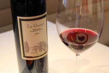 <p>La Querce wine</p>