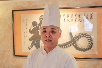 <p>Chef Abe</p>