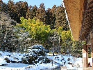 Taken from Daihitei – the main hall