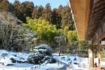 Entsuin, Matsushima in the Snow