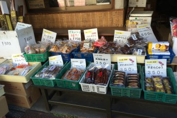 <p>Kawagoe City is known for their sweet potatoes. There are several shops along Penny Candy Alley that sell sweet potato candy.</p>