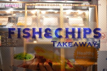 <p>Malins - fist and best&nbsp;&quot;Fish and Chips&quot; shop in Japan!</p>