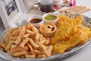 Рыба и Чипсы в