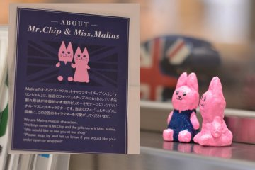 <p>Cute&nbsp;mascots of &quot;Malins&quot; - Mr.Chip and Mrs.Malins</p>