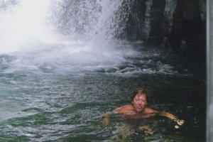 Kawazu: That water is cold!