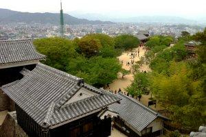 Matsuyama dilihat dari kastil