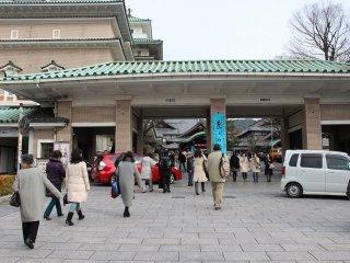 祇園歌舞練場入り口
