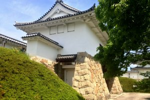 Tanabe Castle today.