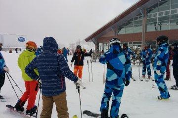 스키 스쿨 참가자 - 개인 또는 그룹이 언제든지 이용 가능