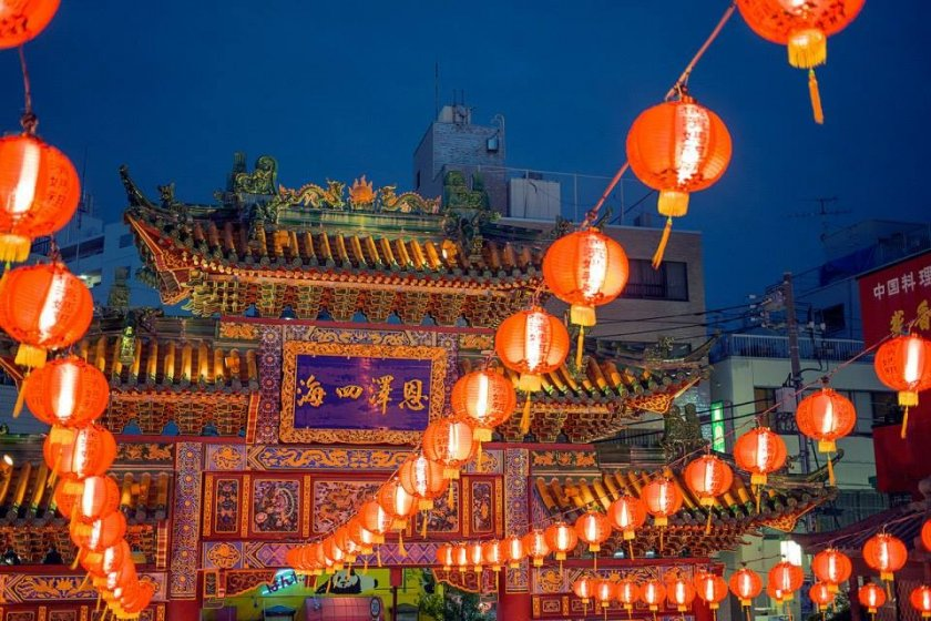 Kwan Tai Temple is one of Yokohama Chinatown's most alluring attractions