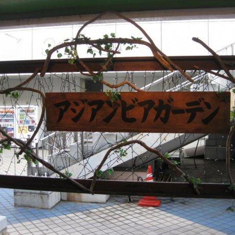 Asian Beer Garden in Fukuyama