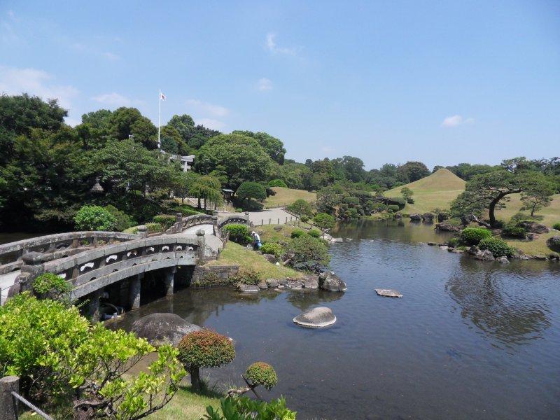 <p>Lovely day in Kumamoto</p>