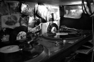 <p>Vinyl records at Rub A Dub</p>